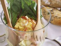 Shrimp and Pineapple Salad with Egg recipe