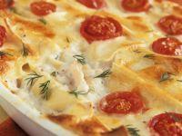 Shrimp and Scallop Lasagne recipe