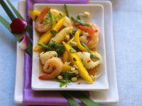 Shrimp and Squid Salad with Mango recipe