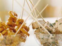 Shrimp and Tofu Kebab recipe