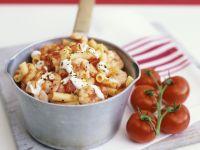 Shrimp and Tomato Macaroni recipe