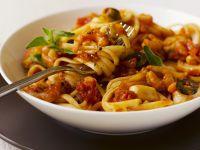 Shrimp and Tomato Pasta Bowl recipe