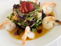 Shrimp and Tropical Fruit Salad recipe
