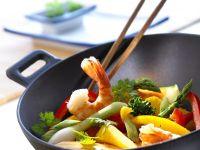 Shrimp and Vegetable Stir-Fry recipe