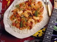 Shrimp and Vegetables with Rice recipe