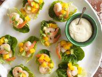 Shrimp Appetizers with Melon recipe