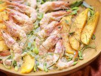 Shrimp Gratin with Mango recipe