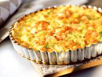 Shrimp, Leek and Celery Quiche recipe