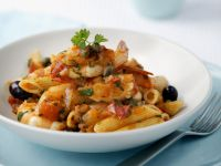 Shrimp Penne Pasta recipe