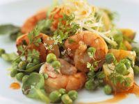 Shrimp Salad with Peas recipe