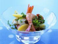 Shrimp, Scallop and Potato Salad recipe