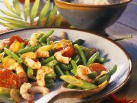 Shrimp Scampi with Green Beans recipe