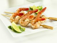 Shrimp Skewers with Lime recipe