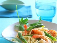 Shrimp Spaghetti recipe