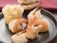 Shrimp with Chile Pear Relish recipe