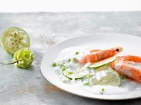 Shrimp with Lime and Coconut Sauce