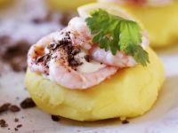 Shrimp with Mashed Potatoes