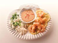 Shrimp with Spicy Coconut Sauce recipe