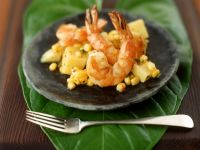 Shrimp with Vegetable Relish recipe