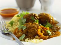 Simmered Meatball Curry