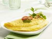 Simple Cheese Omelette recipe