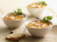 Simple Chicken and Vegetable Soup recipe