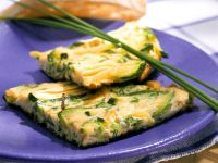 Simple Courgette Frittata