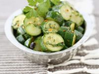 Simple Courgette Salad Bowl recipe