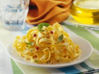 Simple Egg Pasta with Herbs