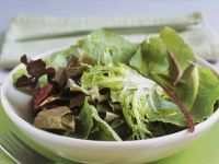 Simple Mixed Greens Salad recipe