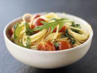 Simple Pasta and Tomato Bowl recipe