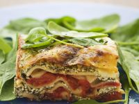 Simple Spinach and Ricotta Lasagne recipe