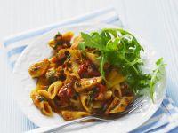 Simple Tomatoey Pasta Dish recipe