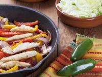Sizzling Chicken Fajitas recipe