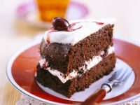 Slice of Chocolate Sponge Cake recipe