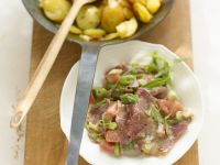 Sliced Beef Cheek Salad recipe
