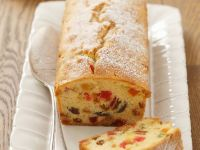 Sliced of Cherry and Almond Loaf recipe