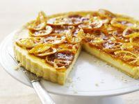 Sliced Orange Shortcrust Torte recipe