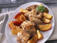 Sliced Pork with Fruit recipe