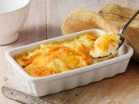 Sliced Potato and Cheese Bake recipe