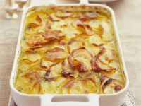 Sliced Potato Gratin Dish recipe