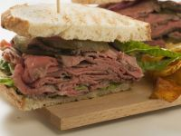 Sliced Roast Beef Sandwich recipe