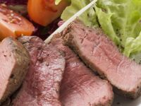Sliced Roast Sirloin Steak recipe