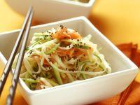 Sliced Salmon & Noodle Bowl recipe