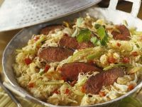 Sliced Steak with Cabbage recipe