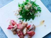 Sliced Veal with Grains recipe