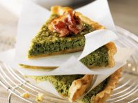 Slices of Green Pea Pie recipe