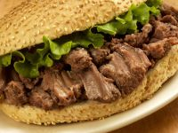 Slow-cooked Pork Sandwich recipe