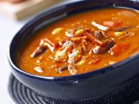 Slow Cooker Bacon and Bean Pottage recipe