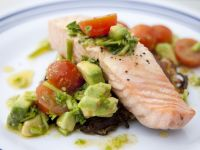 Slow Cooker Poached Salmon recipe